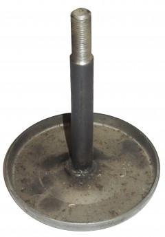 Шток + диск на энергоаккумулятор (сварной вариант) тип 24 d=16 L=140 гальваника