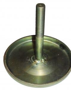 Шток + диск на энергоаккумулятор (сварной вариант) тип 24 d=14 L=285 (иномарка) гальваника