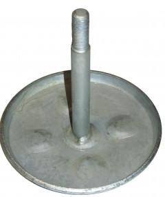 Шток + диск на энергоаккумулятор (сварной вариант) тип 30 гальваника